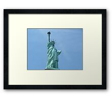 Statue of Liberty - Closeup      Framed Print