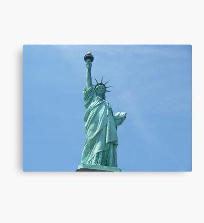 Statue of Liberty - Closeup      Canvas Print