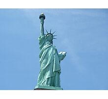 Statue of Liberty - Closeup      Photographic Print