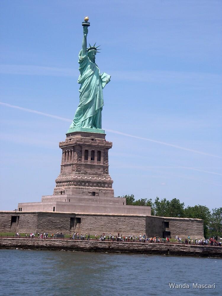 Statue of Liberty - Full View     by Wanda  Mascari