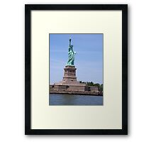 Statue of Liberty - Full View     Framed Print