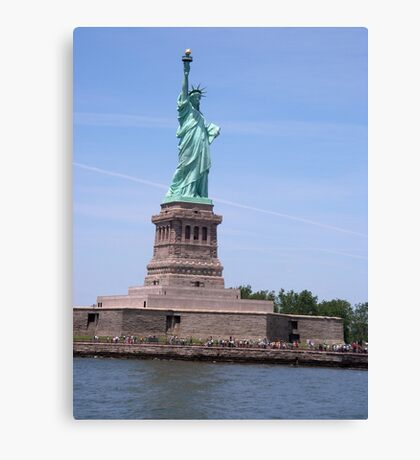 Statue of Liberty - Full View     Canvas Print