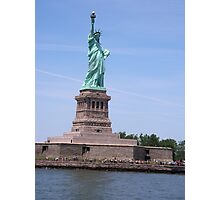 Statue of Liberty - Full View     Photographic Print