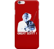 Back to the future - Great Scott ! iPhone Case/Skin