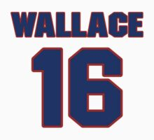 National baseball player Lefty Wallace jersey 16 by imsport
