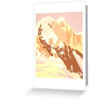 Arctic Desert Greeting Card