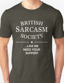 British Sarcasm Society T-Shirt