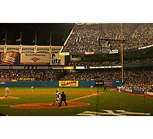 night game at yankee stadium Photographic Print
