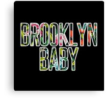 I'm a Brooklyn Baby Canvas Print