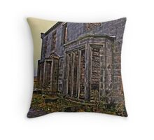 burnt out Throw Pillow