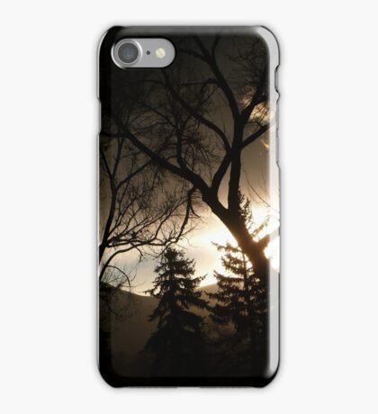 Mystical Colorado Sunset...Colorado Springs iPhone Case/Skin