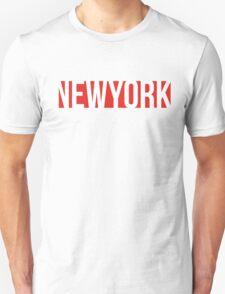 NEW YORK red/white T-Shirt