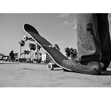 Skateboard Photographic Print
