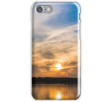 Scandinavia, sunset on sea and tranquil evening iPhone Case/Skin