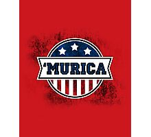 'MURICA T-Shirt. America. Jesus. Freedom. - The Campaign Photographic Print