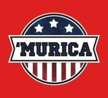 'MURICA T-Shirt. America. Jesus. Freedom. - The Campaign by robbclarke