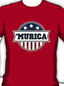 'MURICA T-Shirt. America. Jesus. Freedom. - The Campaign T-Shirt