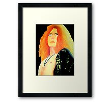 Robert Plant Pastel Framed Print