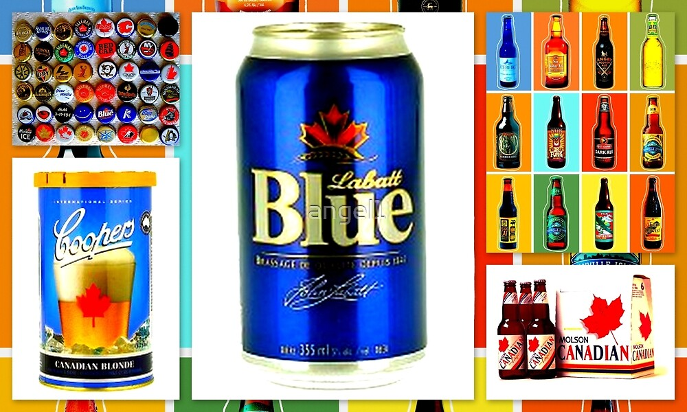 Canadian Beer Collection by ©The Creative  Minds