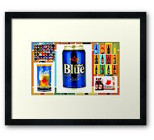 Canadian Beer Collection Framed Print