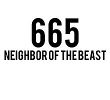 665 - Neighbor Of The Beast by Nany