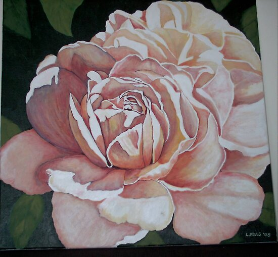 Romantic Rose by Lynne Kells (earthangel)