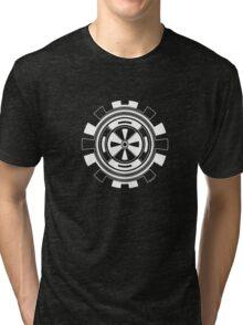 Mandala 11 Simply White Tri-blend T-Shirt