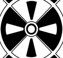 Mandala 11 Back In Black Sticker