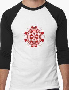 Mandala 11 Colour Me Red Men's Baseball ¾ T-Shirt