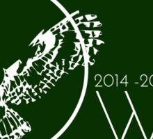 Outdoor Wilderness Leaders 2014-2015 Sticker Sticker