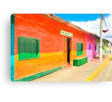 Vibrant Tropical Colors Of Nicaragua - San Juan del Sur Canvas Print