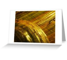 Hill and Plain Greeting Card