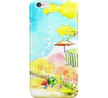 designed landscape iPhone Case/Skin