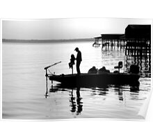 Fishing with Daddy Poster