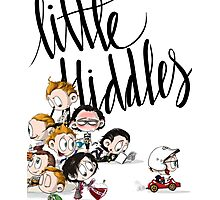 Little Hiddes Title Art Photographic Print