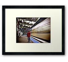 The 7:45 Express  Framed Print