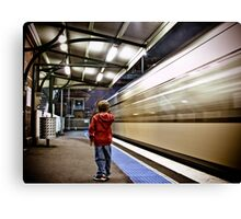 The 7:45 Express  Canvas Print