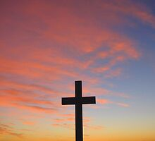 The Cross at Sunrise on Good Friday by Roma Holley