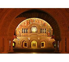 Memorial Church in Stanford Campus Photographic Print