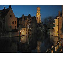 Bruges, Belgium Photographic Print
