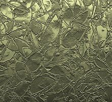 Metal Grunge Relief Floral Abstract by Medusa81