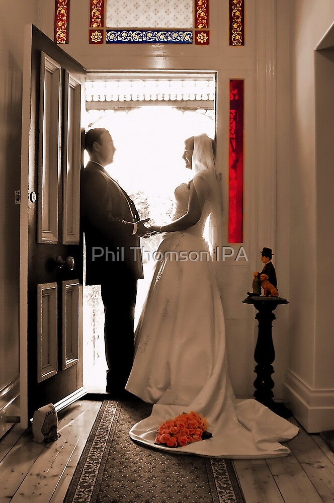 """""""At The Doorway To A Bright Future"""" by Phil Thomson IPA"""