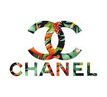 Chanel Fashion Floral Logo by teendad