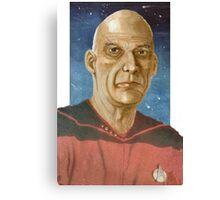 """Captain """"Woodie"""" Picard Canvas Print"""