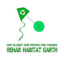 Rehab Habitat Earth Photographic Print