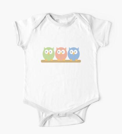 three owls One Piece - Short Sleeve
