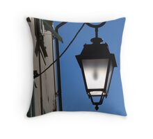 Lantern in the sky Throw Pillow