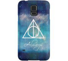 Harry Potter Deathly Hallows Always Samsung Galaxy Case/Skin