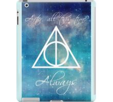 Harry Potter Deathly Hallows Always iPad Case/Skin