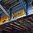 Railway bridge by Elaine Stevenson